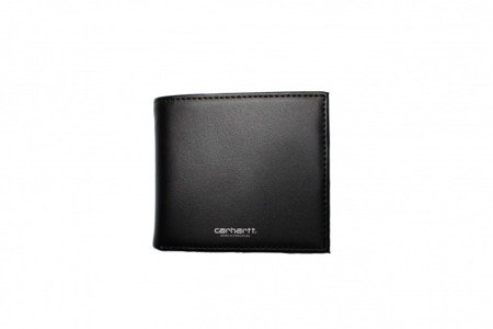 CARHARTT Portfel Leather Wallet Black