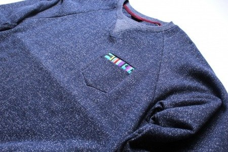 TURBOKOLOR Hugo Sweatshirt Kilim - Navy - FW14