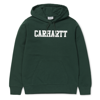 Carhartt Bluza Hooded College Sweatshirt Tasmania/White - SS18